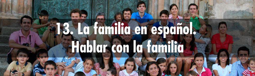 hablar familia espanol