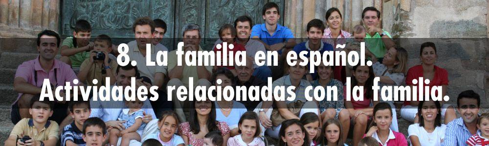 familia español actividades