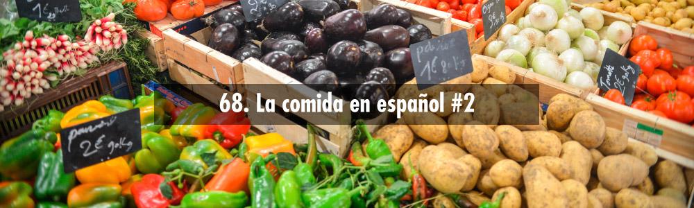 comida en español