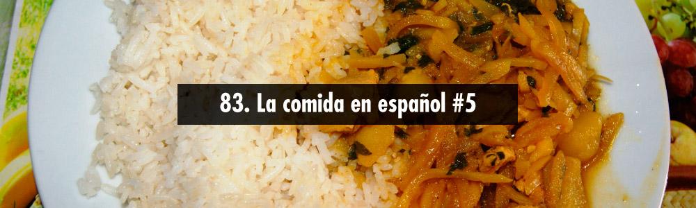 comida espanol