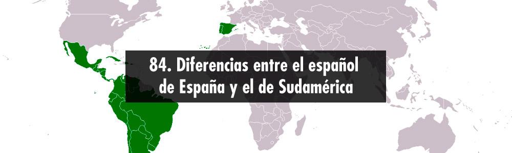 espanol espana sudamerica