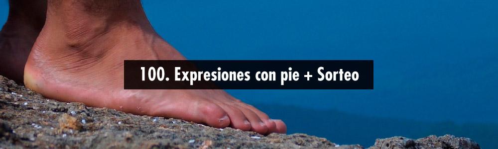 expresiones con pie