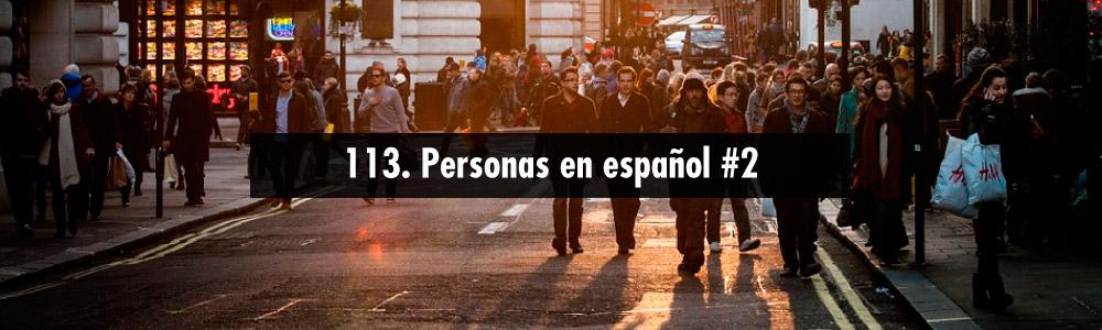 personas espanol