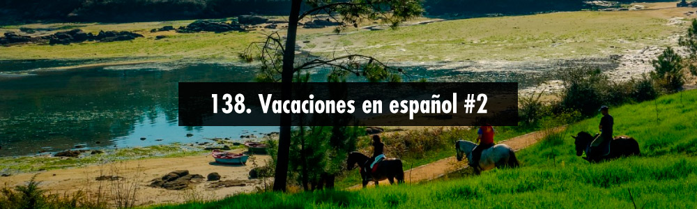 vacaciones espanol